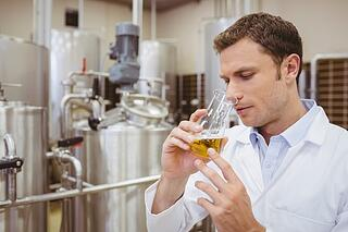 Evaluating beer samples