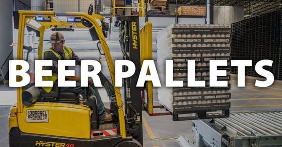 Equipped Brewer Beer-Pallet-Forklift