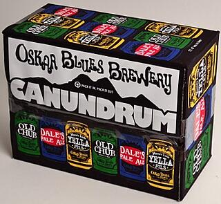 Oskar Blues Brewery mixed can 12-pack