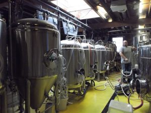 brewery tanks