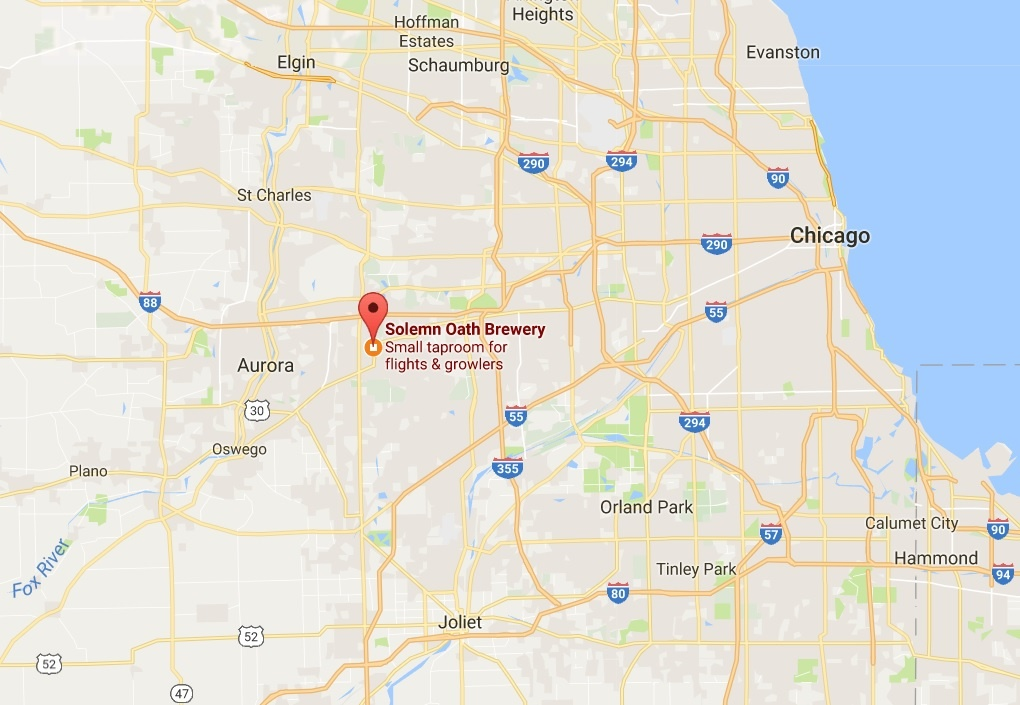 r Q&A: Solemn Oath Brewery Chicago Brewery Map on